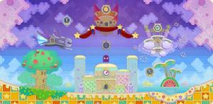 Dream Land Level Map