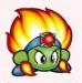 KSS Burning Leo Green
