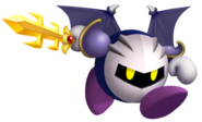 Kirby's Return to Dream Land Artwork Meta Knight