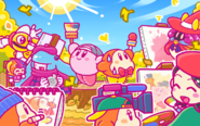 Kirby25AniversarioPintor