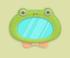 青蛙镜子家具01 毛线卡比