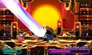 Mecha Knight laser