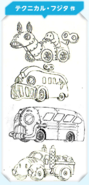 KPR Waddle Dee Driver concept art