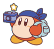 Pupupu Train Bandana Waddle Dee