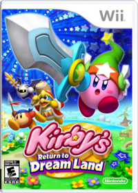 Kirby's Return to Dream Land Portada