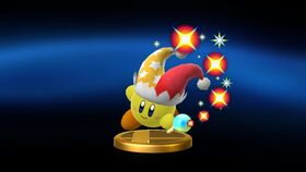 SSBU Beam Kirby trophy