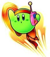 Luchador Kirby Verde