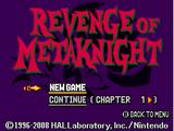 Revenge of Meta Knight