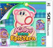 Carátula Kirby's Extra Epic Yarn (US)