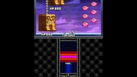 Kirby Mass Attack Subgames - Kirby Master Stage 2-0