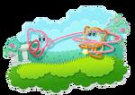Kirby Yarn Artwork