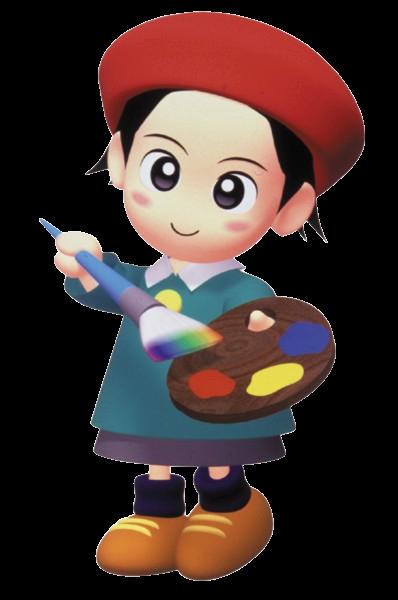 Anime Characters Kirby Wiki : Adeleine kirby wiki fandom powered by wikia