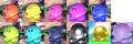 SSBUl Kirby forms