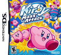 Kirby Mass Attack Portada