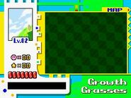 Growth grasses top map