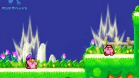 Kirby Power Struggle - Fighter VS Ninja
