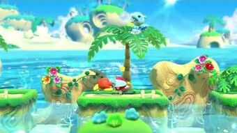 Presentación de Waddle Doo Sombrilla en Kirby Star Allies