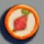 辣椒徽章01 毛线卡比