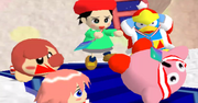 Kirby Falling Down Stairs