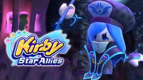 Kirby Star Allies Francisca Gameplay