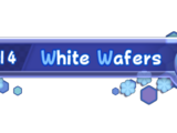 White Wafers