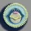 企鹅徽章01 毛线卡比