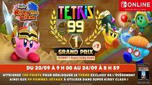Super Kirby Clash Tetris 99 Évènement
