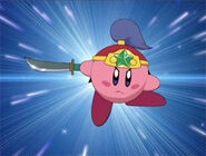 Kirby Ninja en Kirby: Right Back at Ya!