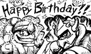 Miiverse Happy Birthday