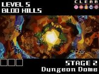 Dungeon dome level select