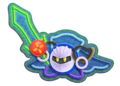 Meta Knight Kirby's Epic Yarn