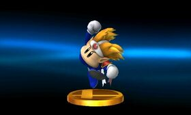 SSB3DS Knuckle Joe Trophy