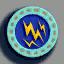 电波徽章01 毛线卡比