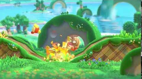Kirby Star Allies Burning Leo Showcase