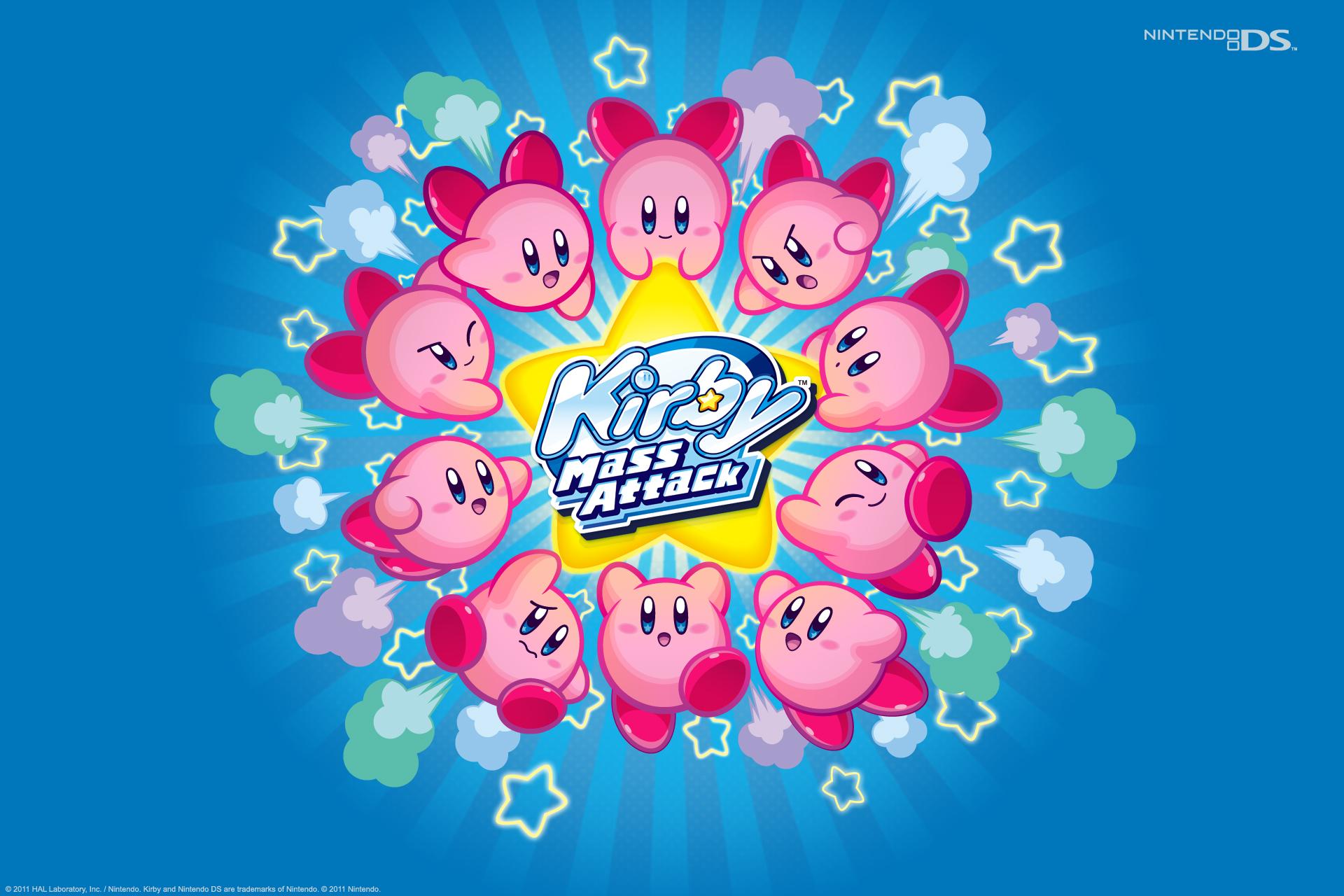 Resultado de imagen para Kirby Mass Attack Nds