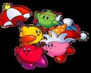 KNiD Four Kirbys