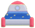 KEY Rocket Bed sprite