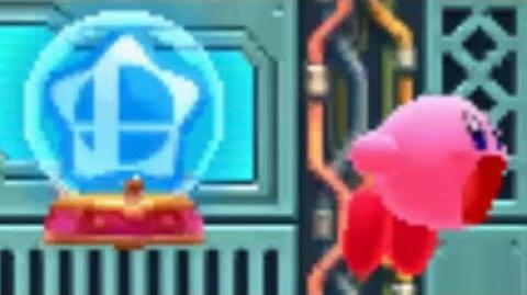 Kirby- Planet Robobot - How to get the Smash Bros. Ability without Amiibo
