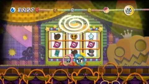 Kirby's Epic Yarn - Boss 3 Squashini