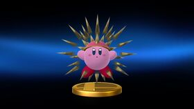 SSBU Needle Kirby trophy