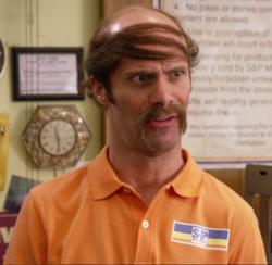 Gilbert played by Nathan Barnatt