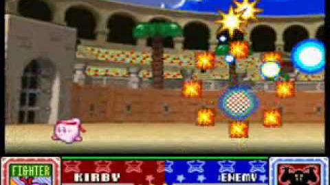 Kirby Super Star, THE ARENA! Fighter Kirby