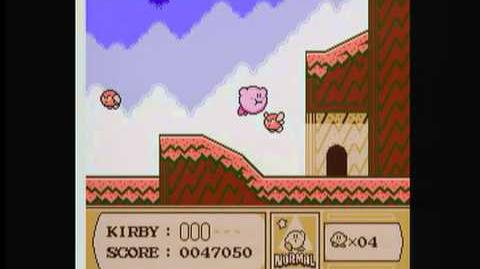 Kirby's Adventure Gameplay
