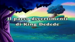 Il parco divertimenti di King Dedede