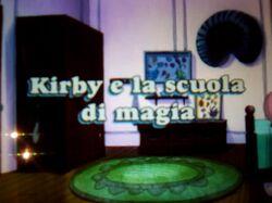 Kirby e la scuola di magia