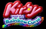 Kirby and the Rainbow Curse - Logo NA
