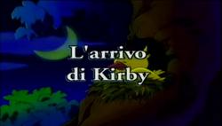 L'arrivo di Kirby