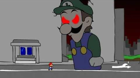 Mario & Luigi Partners in Youtube - Boss Giga-Weegee (Obviusly fake)