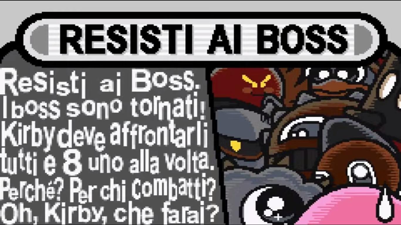 Sfida i boss kirby ita wiki fandom powered by wikia - Kirby e il labirinto degli specchi ...
