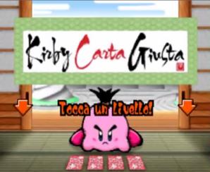 Kirby Carta Giusta